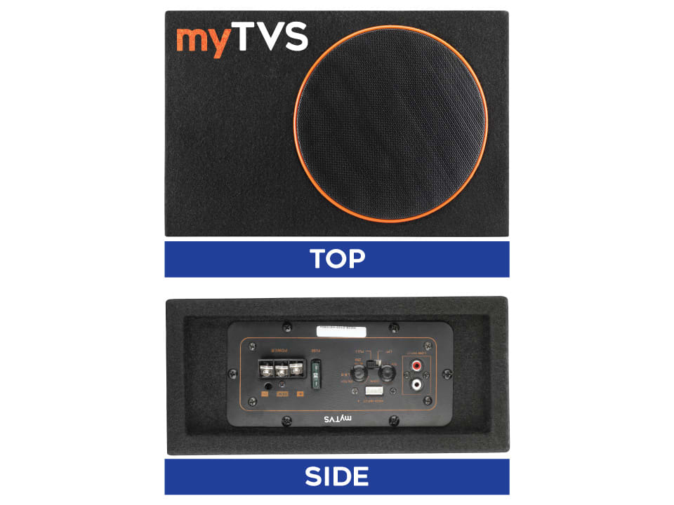 Buy online myTVS SW2 ? Underseat Active Subwoofer at Lowest Price.