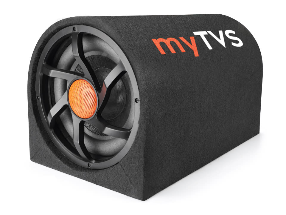 Buy online myTVS TBT 10D- Best D-Shape Subwoofer Active Bass Tube at Lowest Price.