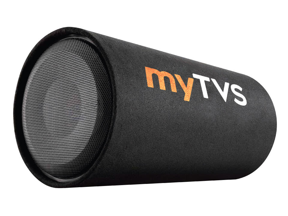 Buy online myTVS TBT 12D- Best D-Shape Subwoofer Active Bass Tube at Lowest Price.