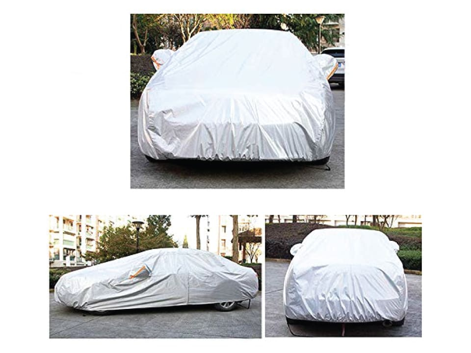 Buy Universal Size myTVS  Car Body Cover with Mirror Pockets at Lowest Price