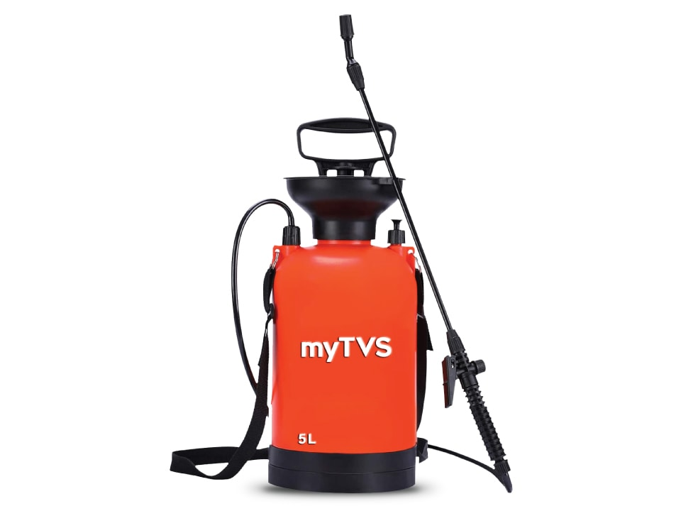 Sanitize and stay safe with myTVS PS-5 Pressure Sprayer, 5 Ltr.