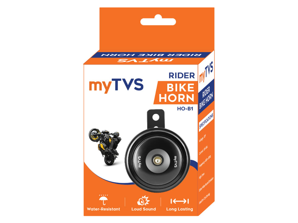 Buy high-quality horns for your bike, myTvs HO-B1 Bike Rider Black at lowest price.