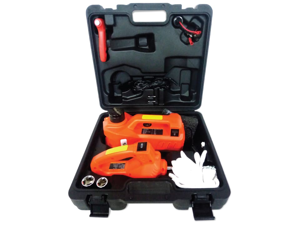 Order online myTVS TI-6, 5 in 1 Kit with 3 Ton Electric Car Jack & Wrench at best price.
