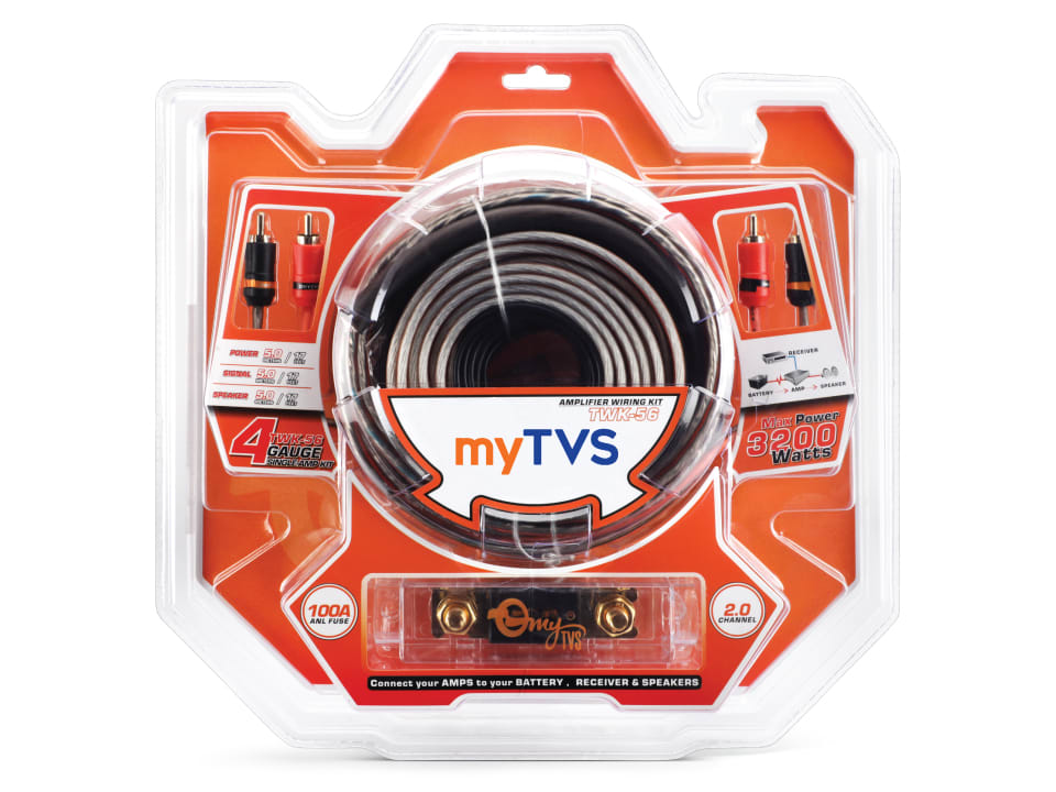 Buy online myTVS TWK-56 4G Amplifier Wiring Kit for All Cars