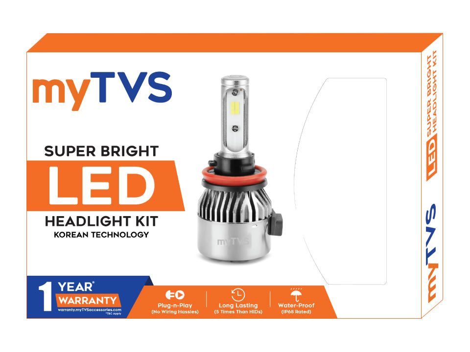 Buy online best LED headlight bulbs from myTVS at discount price