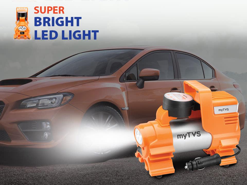 Powerful metal body digital auto cut  car air pump for Sedans & SUVs