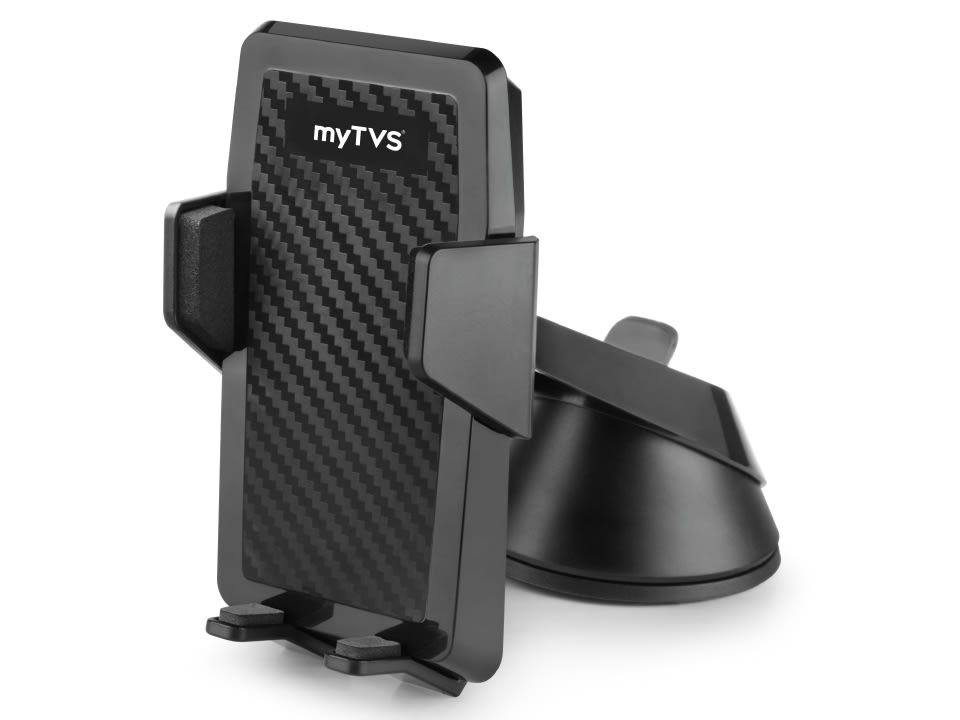 High-quality Car Dashboard & WindScreen Mobile Phone Holder - myTVS MH-2 at lowest price.