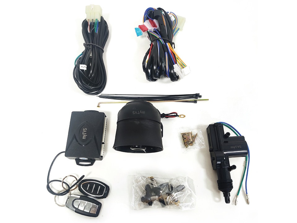 myTVS 1 Door Car Central Locking System for any Car at lowest Price