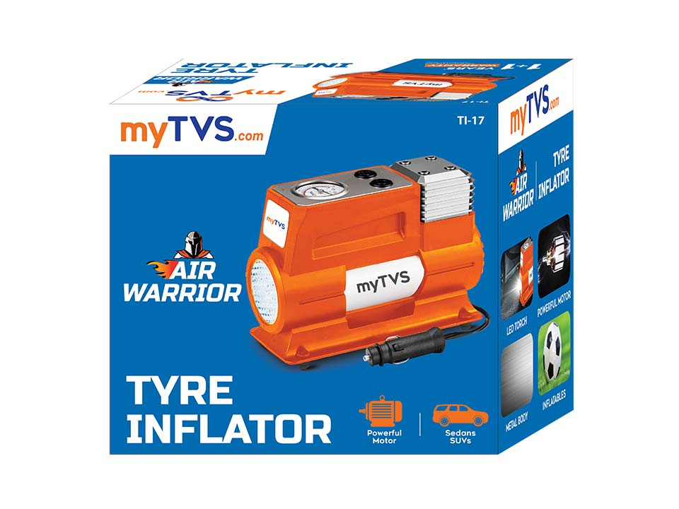 Heavy duty car tyre inflator car air pump