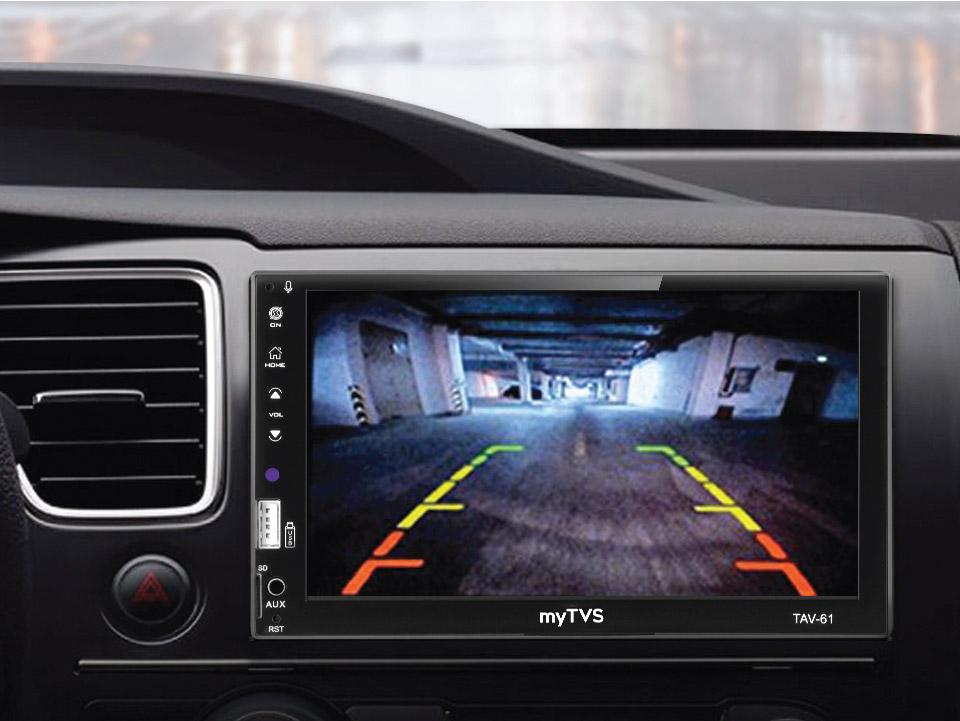 Buy myTVS RC-23E Car Rear View 8 LED Night Vision Camera at high discount.