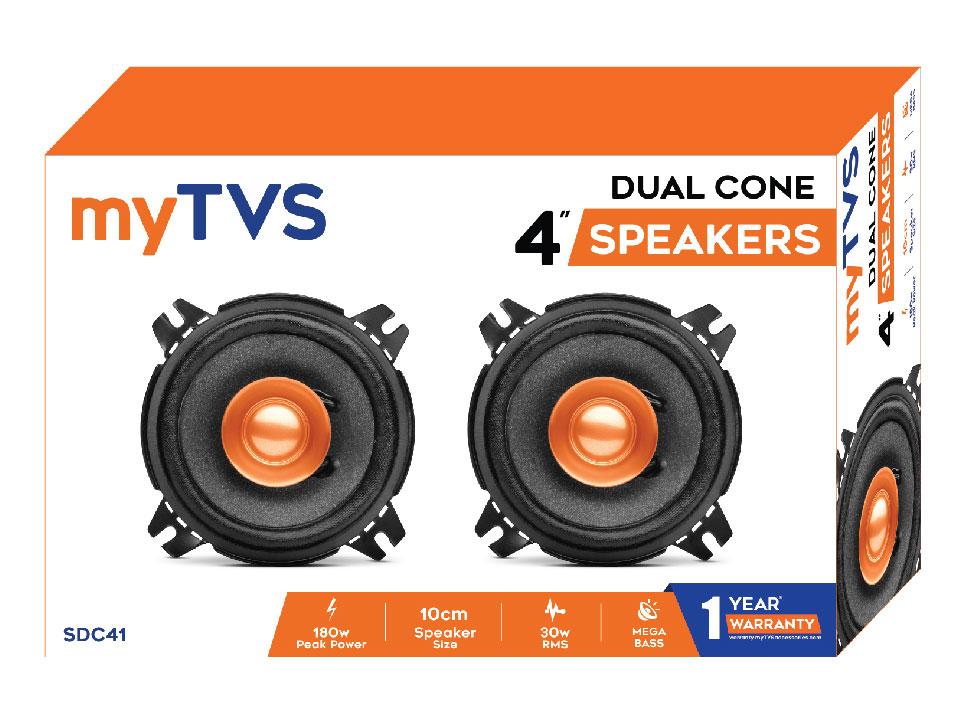 Enjoy clear audio with myTVS SDC41 4
