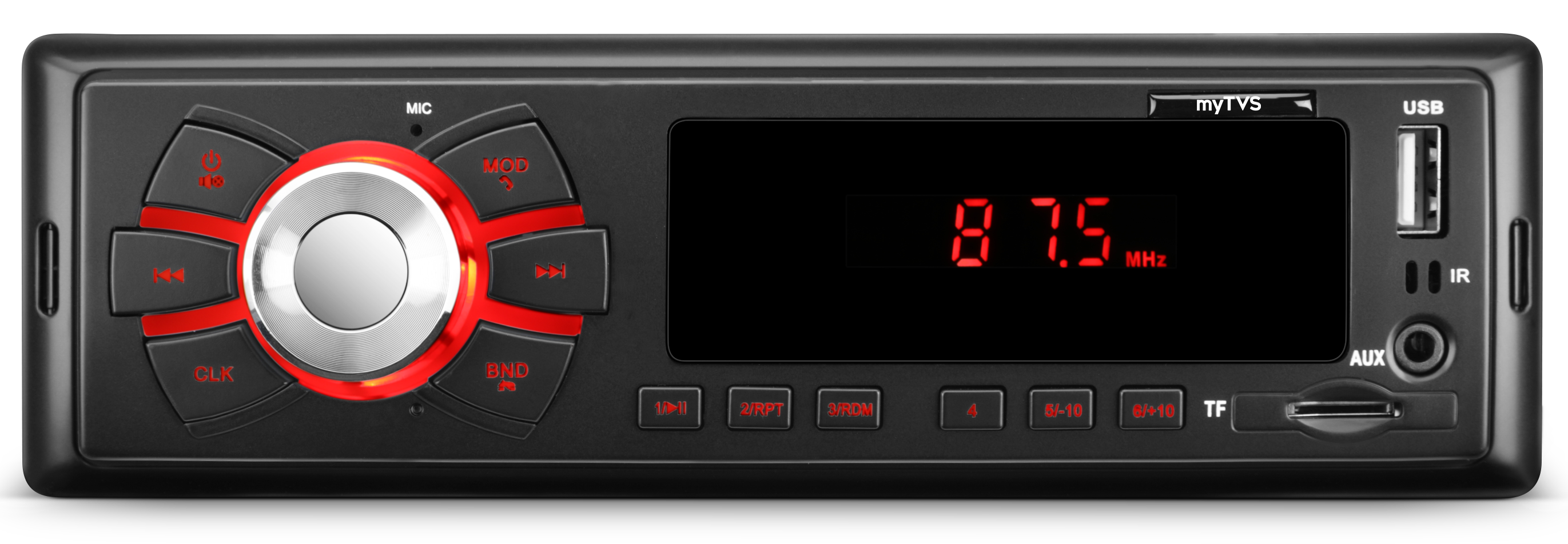 myTVS TMP-55 MP3 Player is the best car stereo player for memorable music in your car.