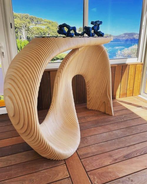 banque d'accueil design en bois mywoodream