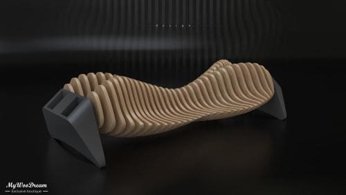 banquette design en bois mywoodream