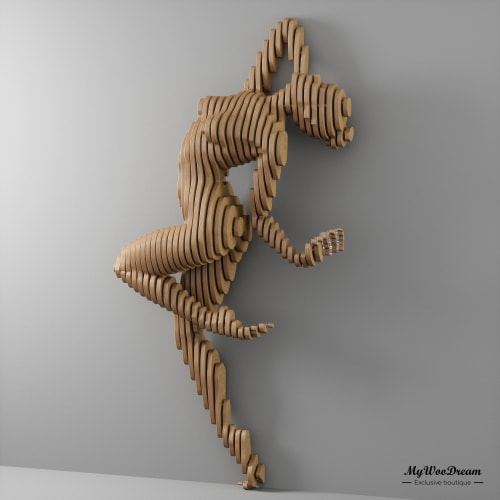 Sculpture en bois design