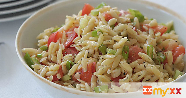 Orzo with Tomatoes and Parmesan