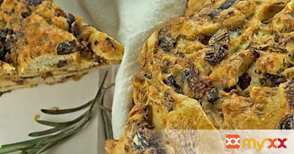 Black Olive & Tomato Bread