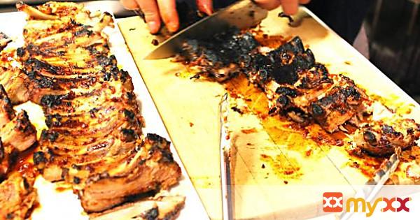 Apple Glazed BBQ Baby Back Ribs
