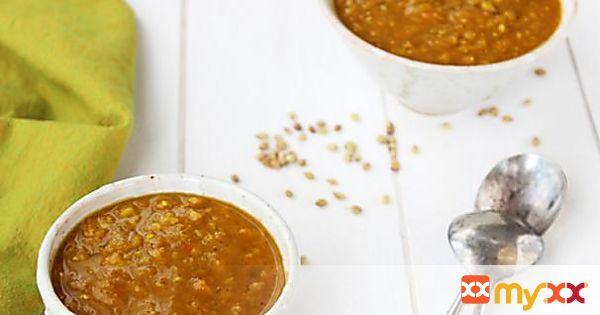 Indian Spiced Red Lentil Soup