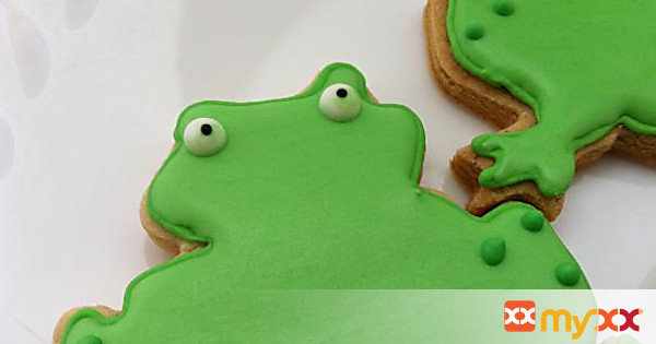Brown sugar & Spice Sugar cookie frogs