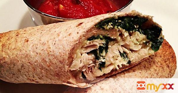 Chicken & Spinach Roll Ups