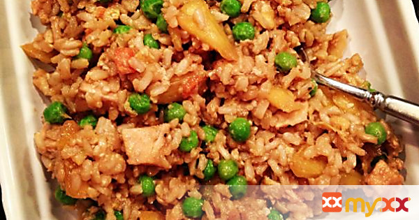 "Chicken Brown ""Fried"" Rice"