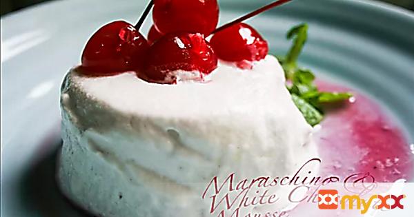Maraschino & White Chocolate Mousse