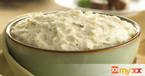 Mashed Potatoes with Garlic, Sage & Goat Cheese