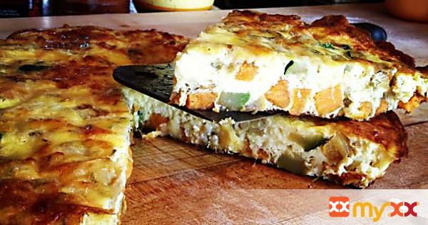 Meatless Monday :: Squash & Sweet Potato Fritatta