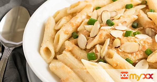 Penne in Carrot Sauce