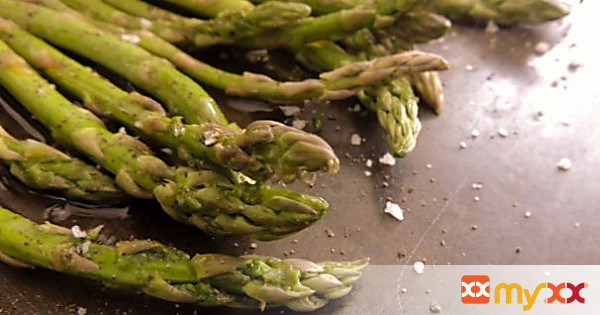 My Roasted asparagus