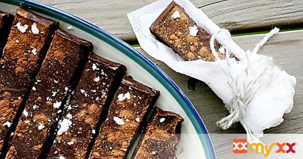 No Bake Chocolate Bars