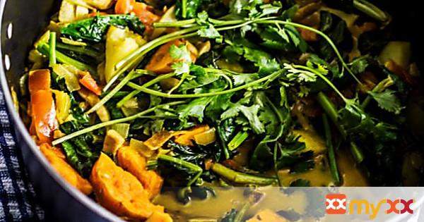 Potato & Coconut Curry