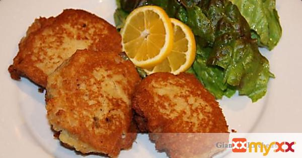 Potatoes and Salmon Cake
