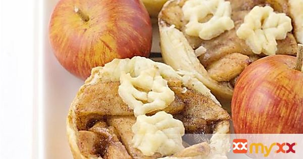 Puff Pastry Fried Apple Tarts