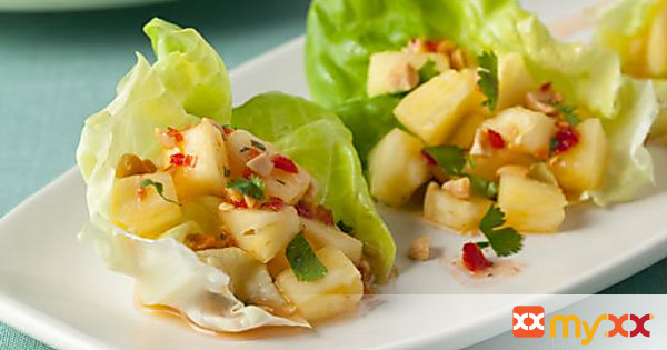 Thai-style pineapple snack