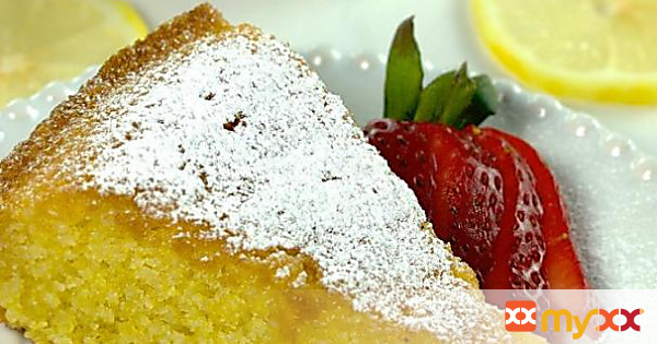 Vibrant Lemon Polenta Cake