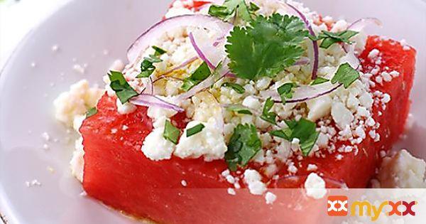 Watermelon and Queso Fresco Salad