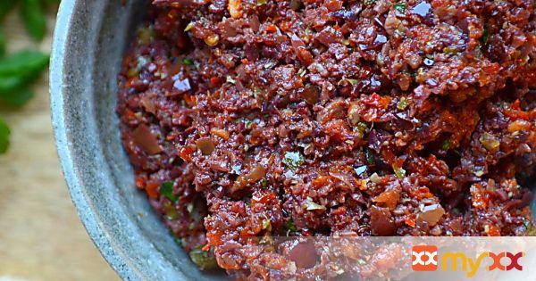 Sun Dried Tomato Tapenade