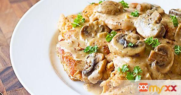 Valentine's Chicken Marsala