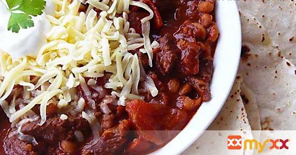 Suzanne's Red Chili Recipe