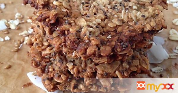 Vegan Oats & Flax Crisps w/ Coconut