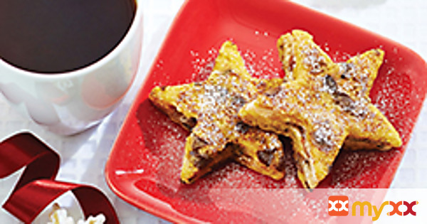 Starry Morning Raisin French Toast