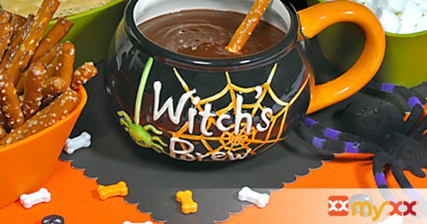 Witch's Cauldron Chocolate Dip