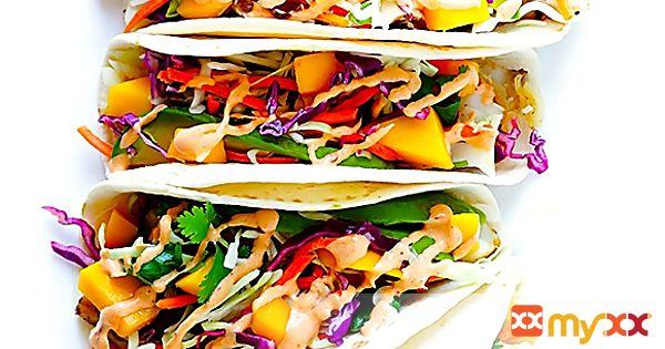 Mango Chipotle Fish Tacos