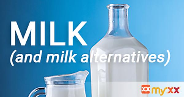 MILK (and milk alternatives)