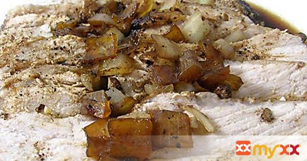 Skinny, Crock-Pot Balsamic Pork Tenderloin