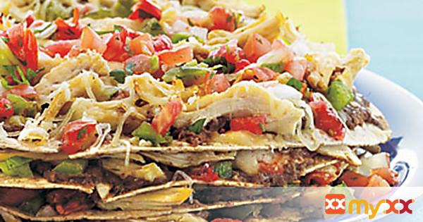 Chicken-Tortilla Pie