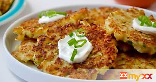 Healthy Cauliflower Fritters