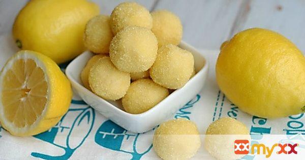 Easy Lemon Truffle Balls